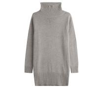 Oversize-Pullover aus Wolle mit Rollkragen