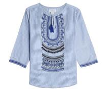 Bestickte Tunika aus Baumwolle