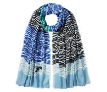Bedruckter Schal aus Kaschmir