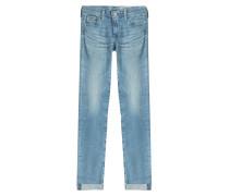 Cropped Skinny Jeans Stilt Roll Up