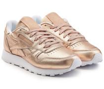 Sneakers Classic aus beschichtetem Leder