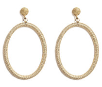Ohrringe Gitane Sparkly Oval aus 18kt Gold