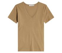 V-Shirt aus Pima-Baumwolle