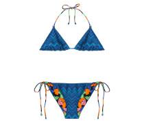 Wende-Bikini aus Häkelstrick