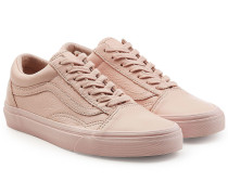 Sneakers Old Skool aus Leder