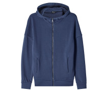 Zipper-Jacke aus Baumwolle