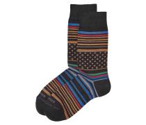Print-Socken mit Baumwolle
