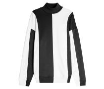 Pullover mit Baumwolle im Color Block Look