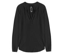 Tunika-Bluse aus Baumwoll-Jersey