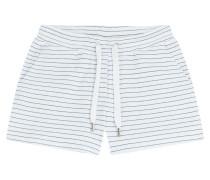 Gestreifte Baumwoll-Shorts