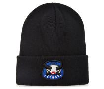 Bestickte Mütze aus Wolle
