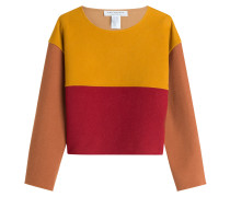 Boxy-Pullover aus Wolle