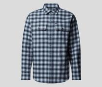 Hemd mit Glencheck-Muster