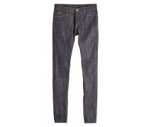 Slim Leg Jeans im Patchwork Look