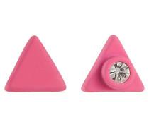 Ohrstecker Rubberized Triangle