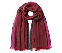 Bedruckter Schal aus Wolle, Kaschmir und Seide