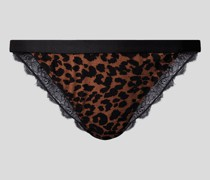 Slip mit Animal-Print