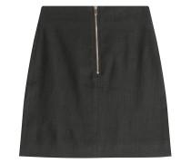 Minirock aus Leinen und Baumwolle