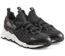 Sneakers \'Trek\' mit Leder und Neopren