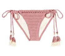 Bikini-Höschen aus Häkelstrick