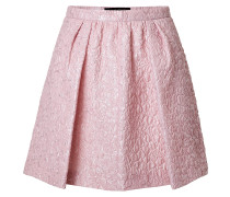 Flared-Skirt aus Cloqué