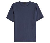 T-Shirt aus Schurwolle und Seide
