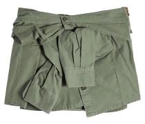 Minirock aus Baumwolle im Shirt Look