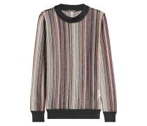 Pullover mit Metallic-Akzenten