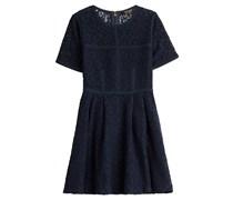 Juicy Couture Flared-Dress mit Stickereien - Blau