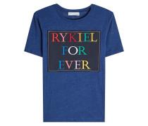 Bestickter T-Shirt aus Baumwolle
