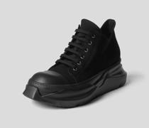 Plateau-Sneaker mit Schnürung