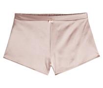 Shorts aus Seide mit Spitze