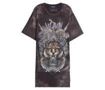 Bedrucktes T-Shirt aus Baumwolle mit Used-Effekt