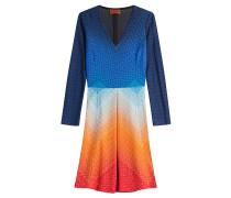 Day Dress mit Zacken- und Wellenmuster