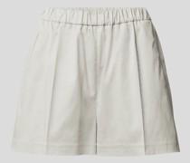 Shorts mit Paspeltaschen