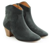 Ankle Boots Dicker aus Veloursleder