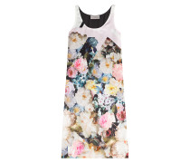 Print-Dress aus Seide