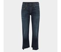 Straight Leg Jeans im Used-Look