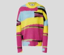 Pullover im Colour-Blocking-Design