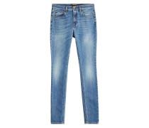 Skinny Jeans mit Stickerei