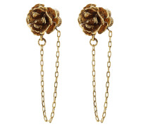 Ohrstecker Chain Flower Studs