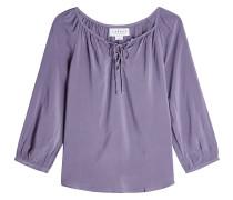 Tunika-Bluse mit Schnürung