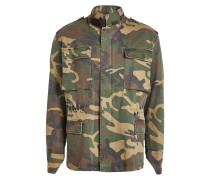 Camouflage-Jacke aus Baumwolle
