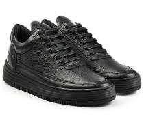 Plateau-Sneakers Top Stripe aus Leder