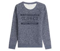 Bedrucktes Sweatshirt mit Baumwolle