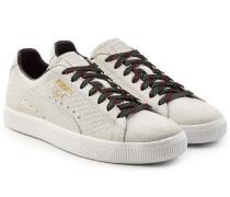 Sneakers Clyde aus strukturiertem Leder