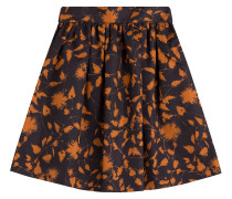 Flared-Skirt mit Print