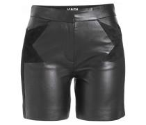 Shorts aus Lammleder