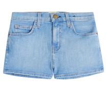 High-Waist-Denim-Shorts