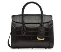 Handtasche Heroine aus geprägtem Leder